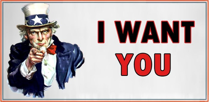 Resultat d'imatges de I want you uncle sam